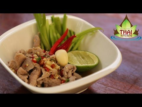 Thai pork with lime juice and garlic moo manow youtube thai thai pork with lime juice and garlic moo manow youtube forumfinder Choice Image