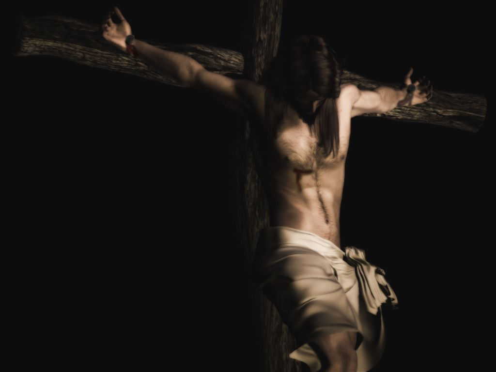 god gave up his son so that we could live free jesus chose to