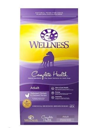 Wellness Complete Health Chicken Oatmeal Dry Dog Food 30 Lbs