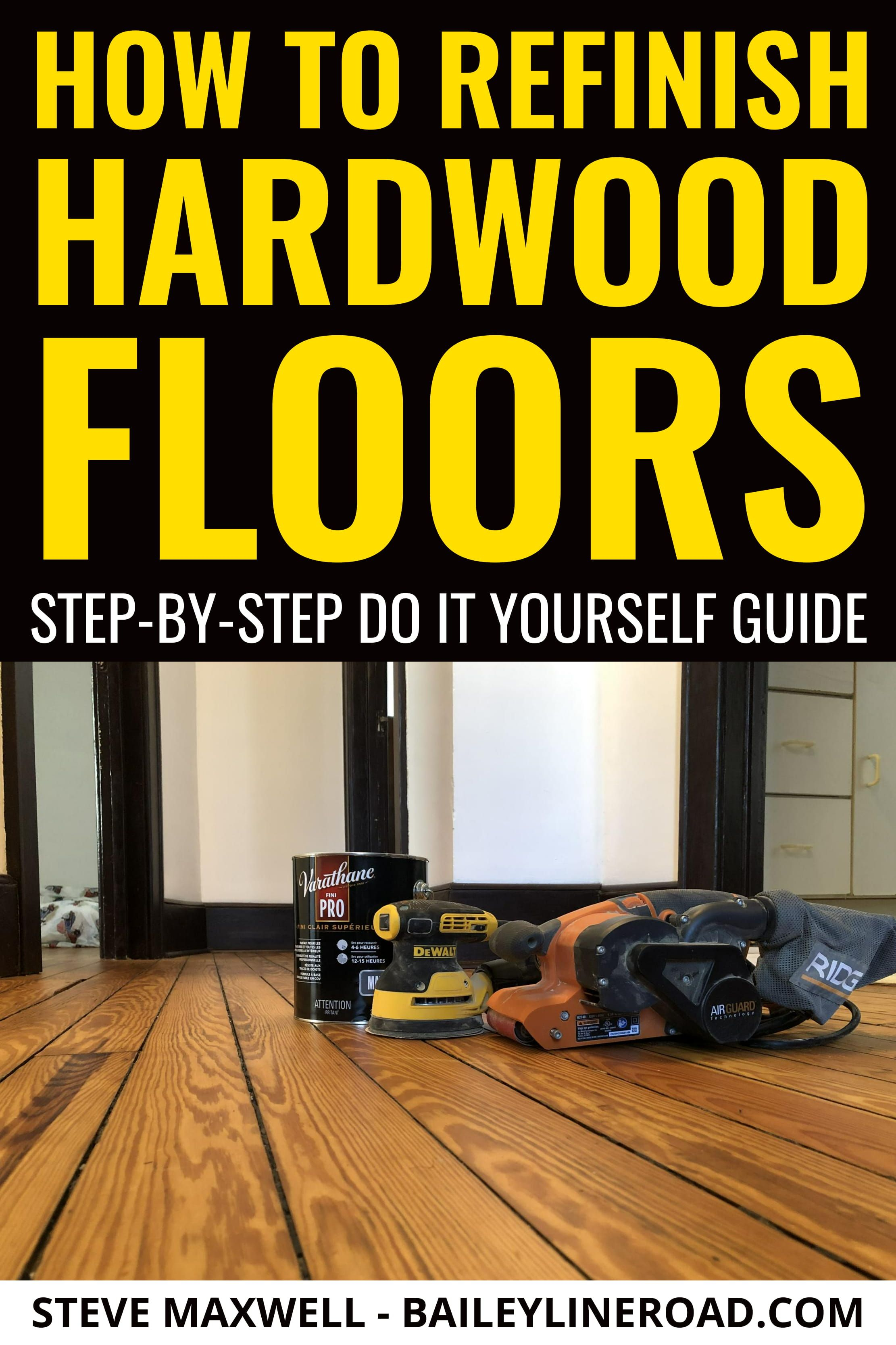 Best How To Refinish Hardwood Floors Step By Step Do It 400 x 300