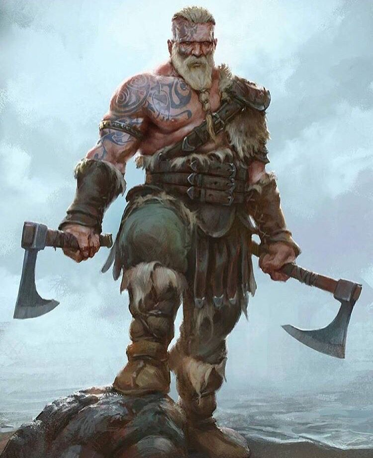 Berserker | norse | Pinterest | Vikings, RPG and Barbarian