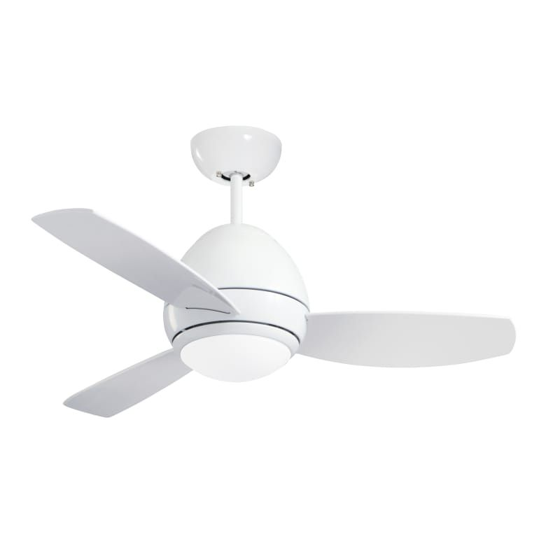 Emerson Curva Led 44 Curva 44 3 Blade Indoor Ceiling Fan With