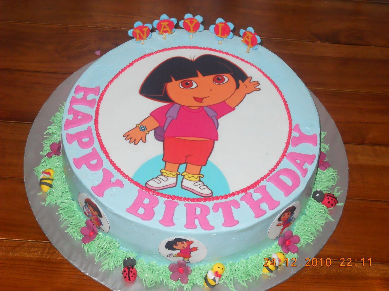 dora cakes | MyPu3 Cake House | DORA | Pinterest | Dora cake and Cake