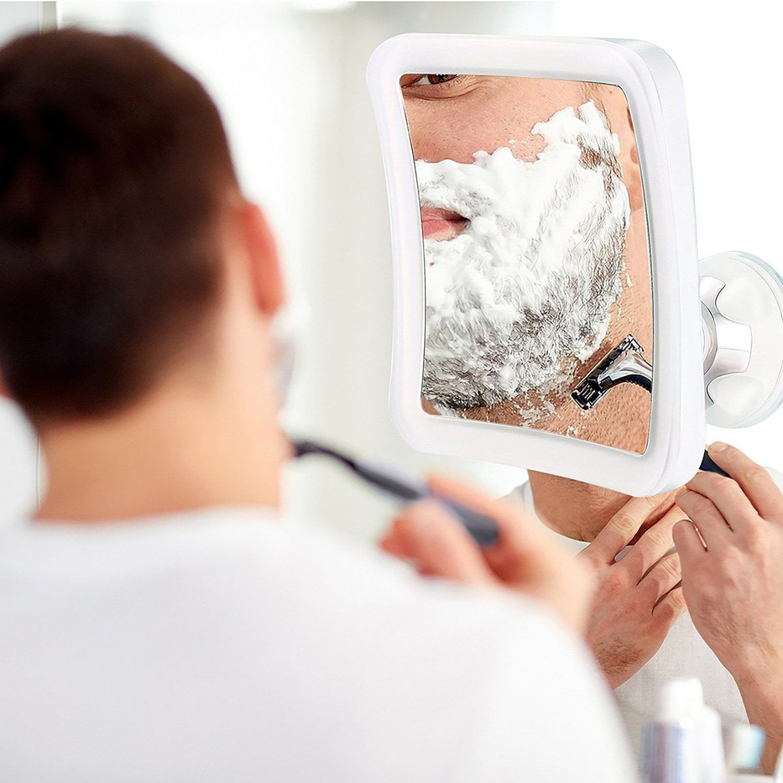 Lighted Makeup Mirror, Magnifying Bathroom Shower Vanity