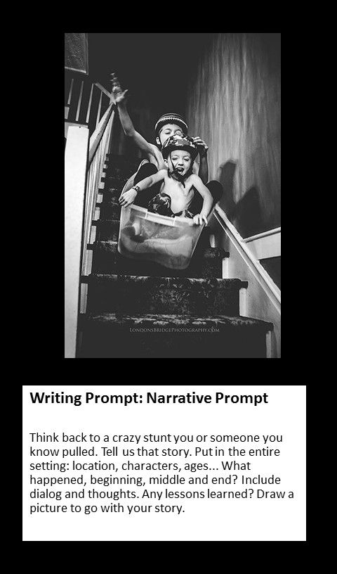 writing prompt  personal narrative