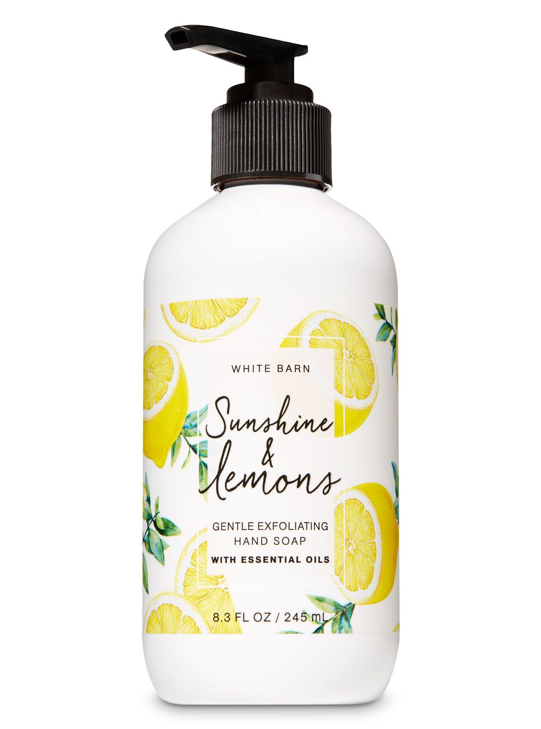 Sunshine Lemons Gentle Exfoliating Hand Soap By Bath Body Works