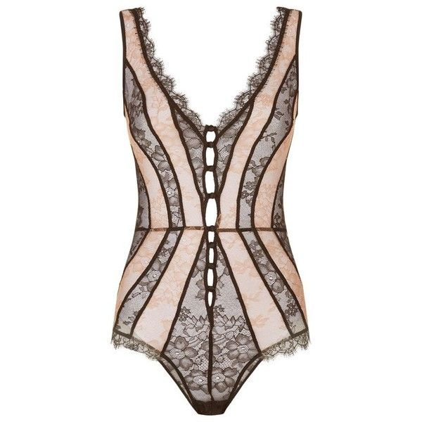 Agent Provocateur Saffi Body (€440) ❤ liked on Polyvore featuring agent provocateur