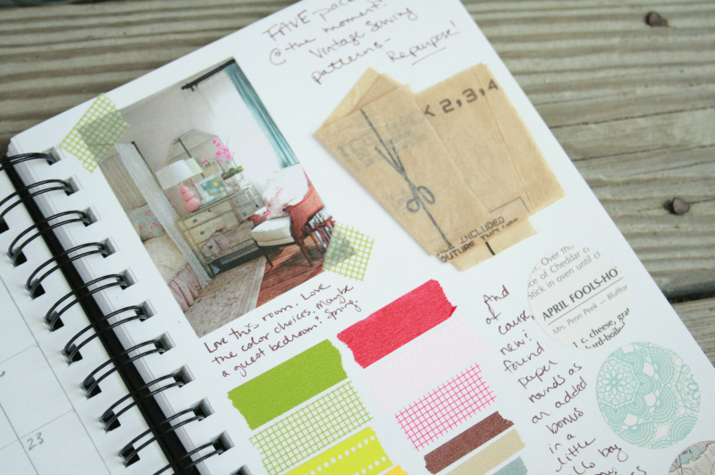 The Creative Place Friday Wrap Up Idea Journal 2013 projects