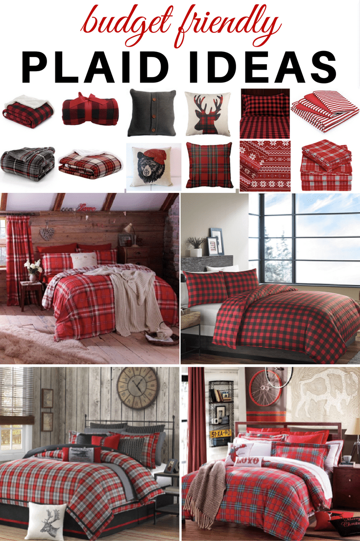 Plaid Ideas Bedroom Plaid Bedding Warm And Cozy And