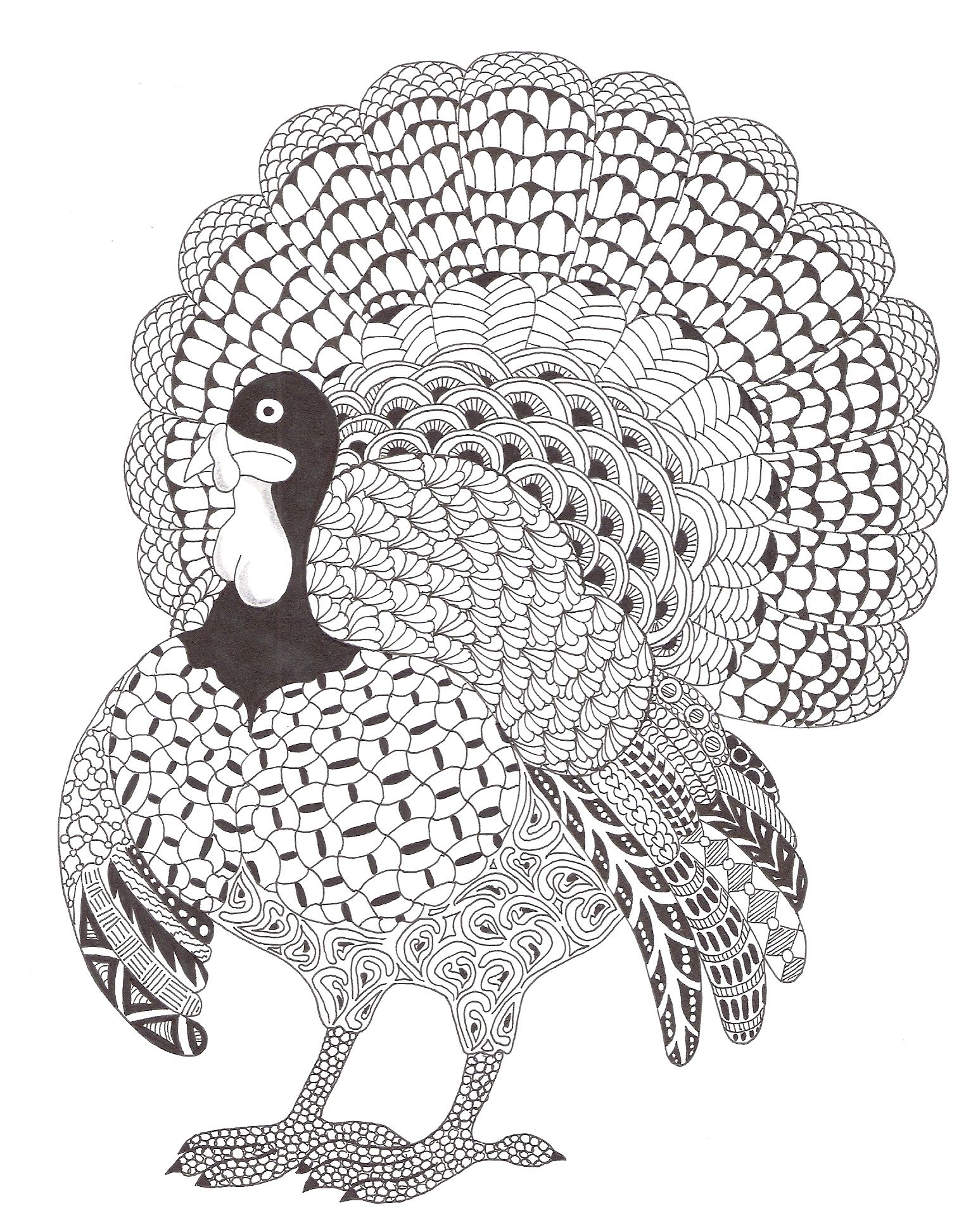 zentangle made by mariska den boer 158 dieren
