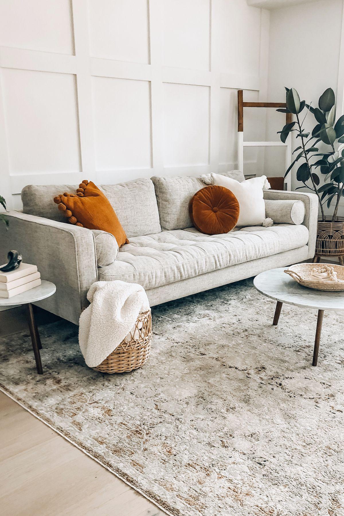 Photo of Sven Birch Ivory Sofa