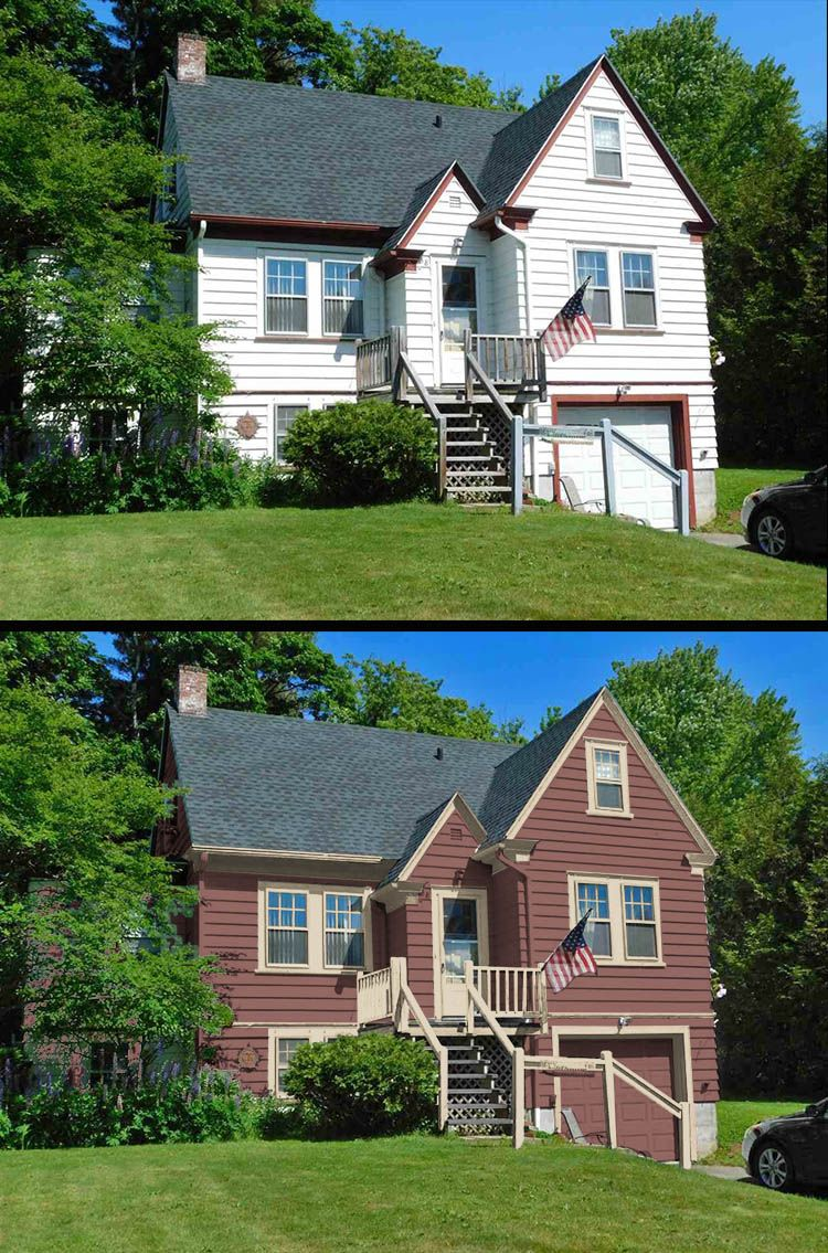 1940 Vernacular House Colors House Colors House Restoration Historic Paint Colours