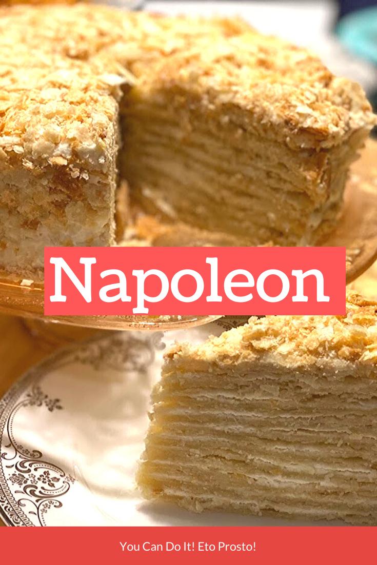 Napoleon Cake  #napoleonkuchenrussisch