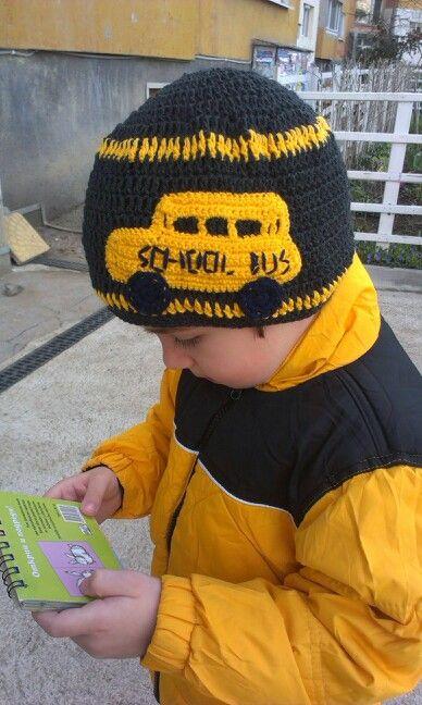fdc04a0538f School bus hat