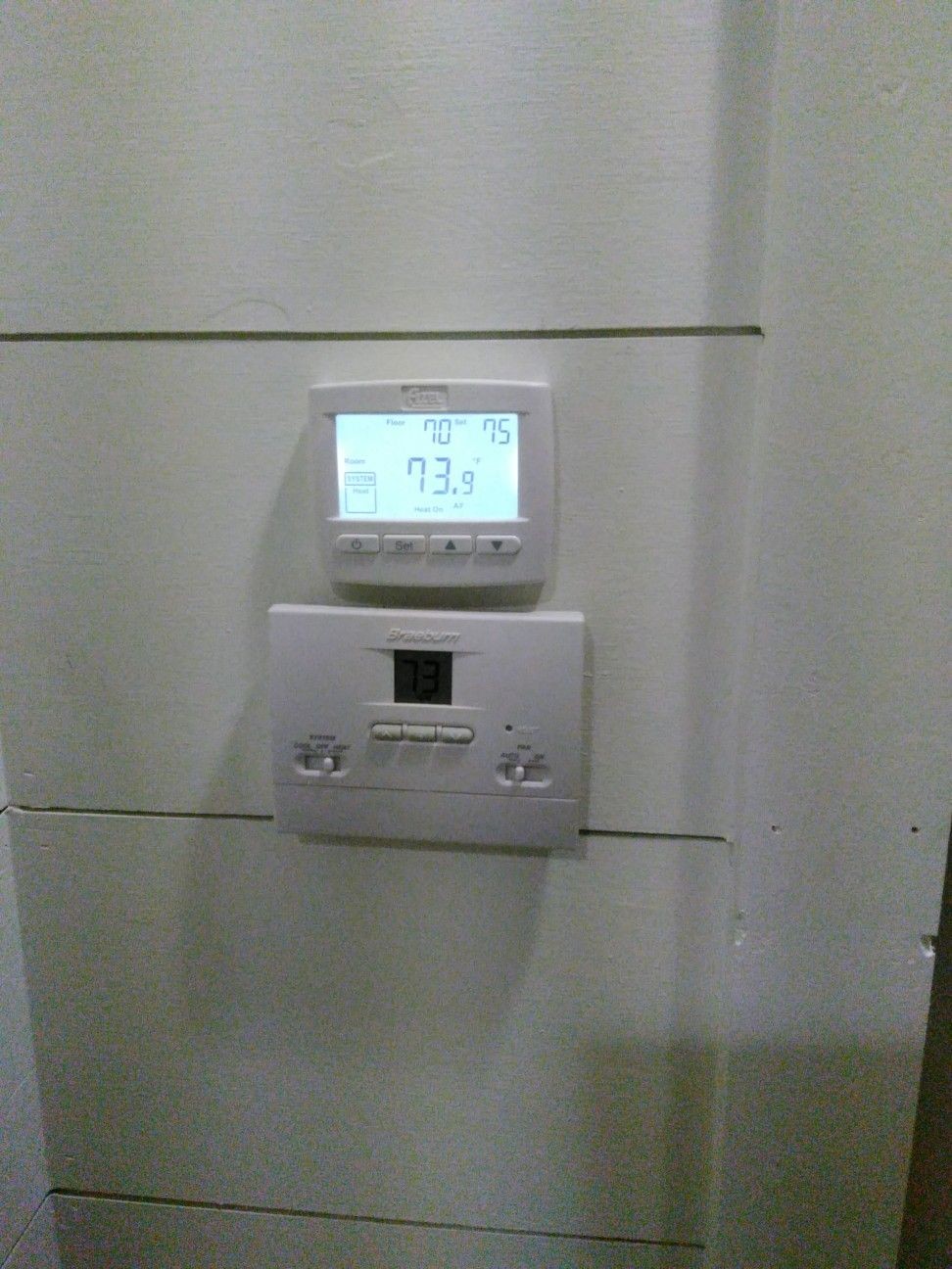 Thermostat has floor sensor (With images) | Flooring ...