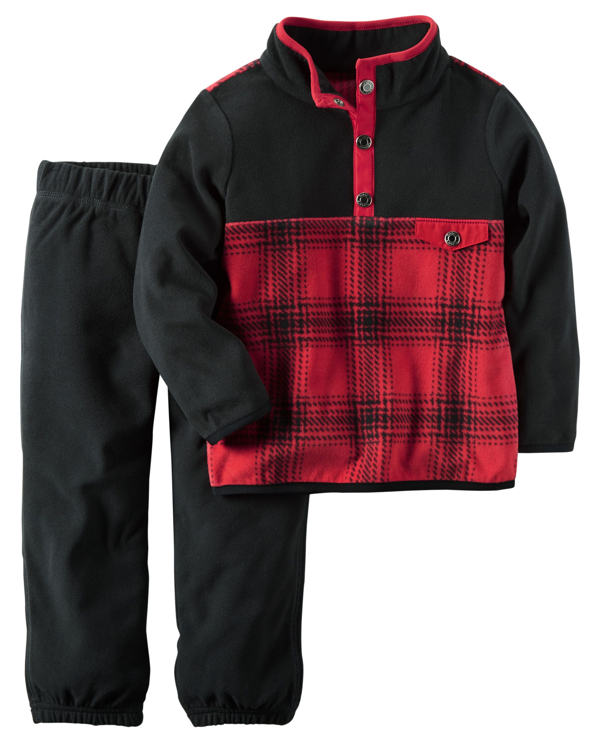 2-Piece Fleece Pullover & Pant Set | Babies clothes, Babies and ...