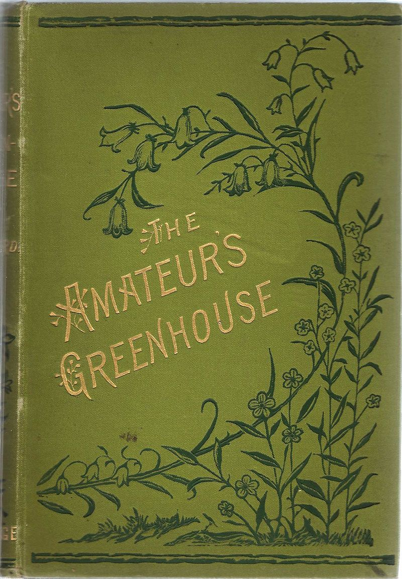 The Amateurs Greenhouse And Conservatory Book Cover Art