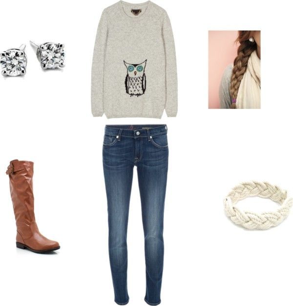 """""""warm owl"""" by erinbkelly on Polyvore"""