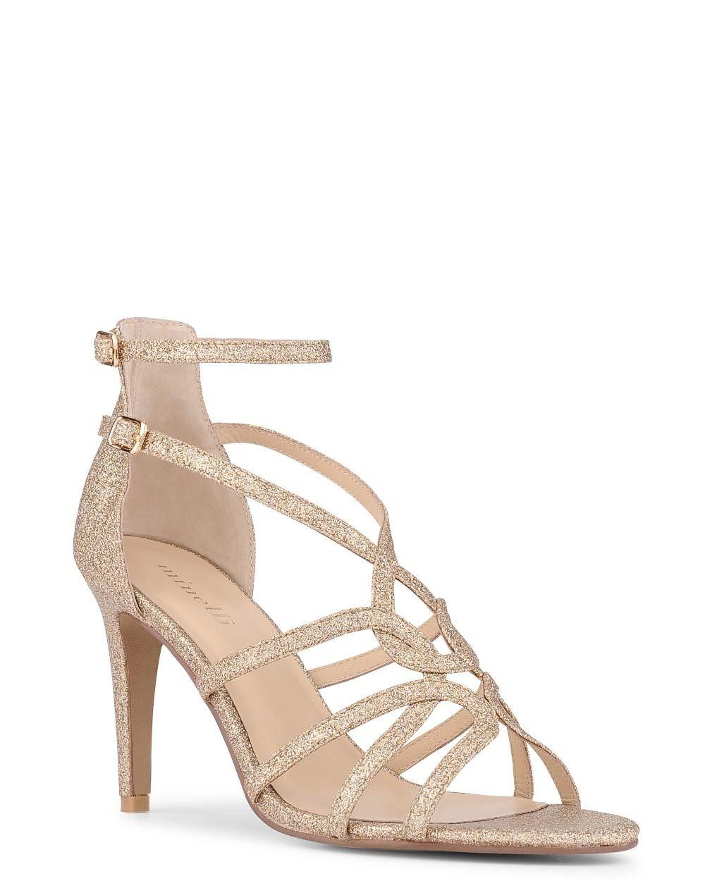 Femme La Collection chaussures Sandale Sandale Mila Or