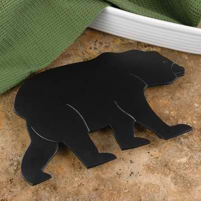 Bear Kitchen Decor | Bear Country Trivet