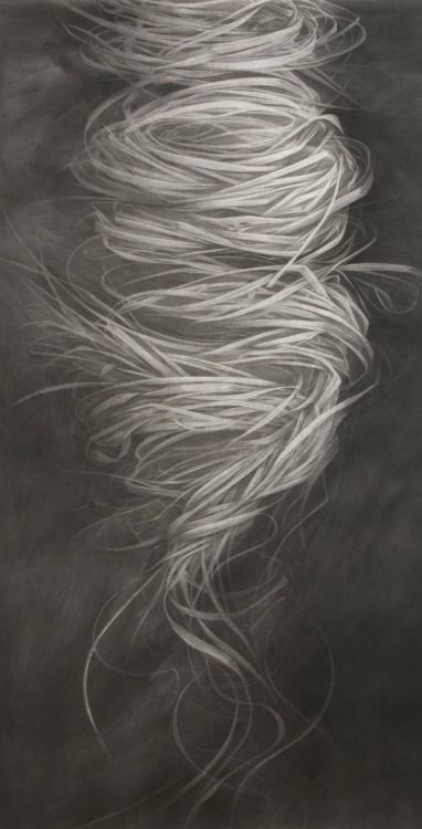 Robin Cole Smith(American, b.1985)   Emergence   2013   charcoal on paper