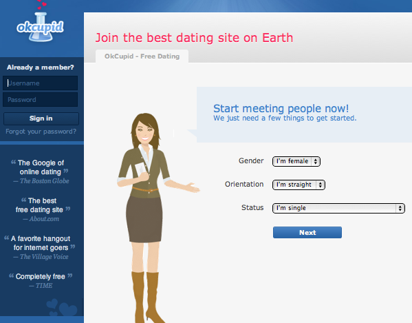 online dating websites like okcupid com allow users to search by