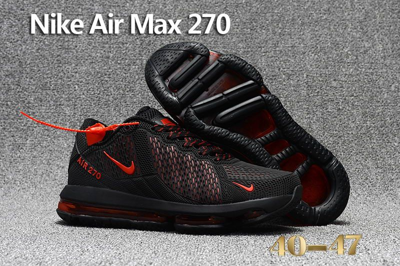 489aa9c9c9a Nike Air Max Flair 270 KPU Black Red