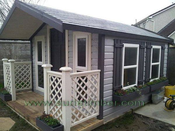 Garden Sheds No Plywood Only P T Red Deal Timber Spruse