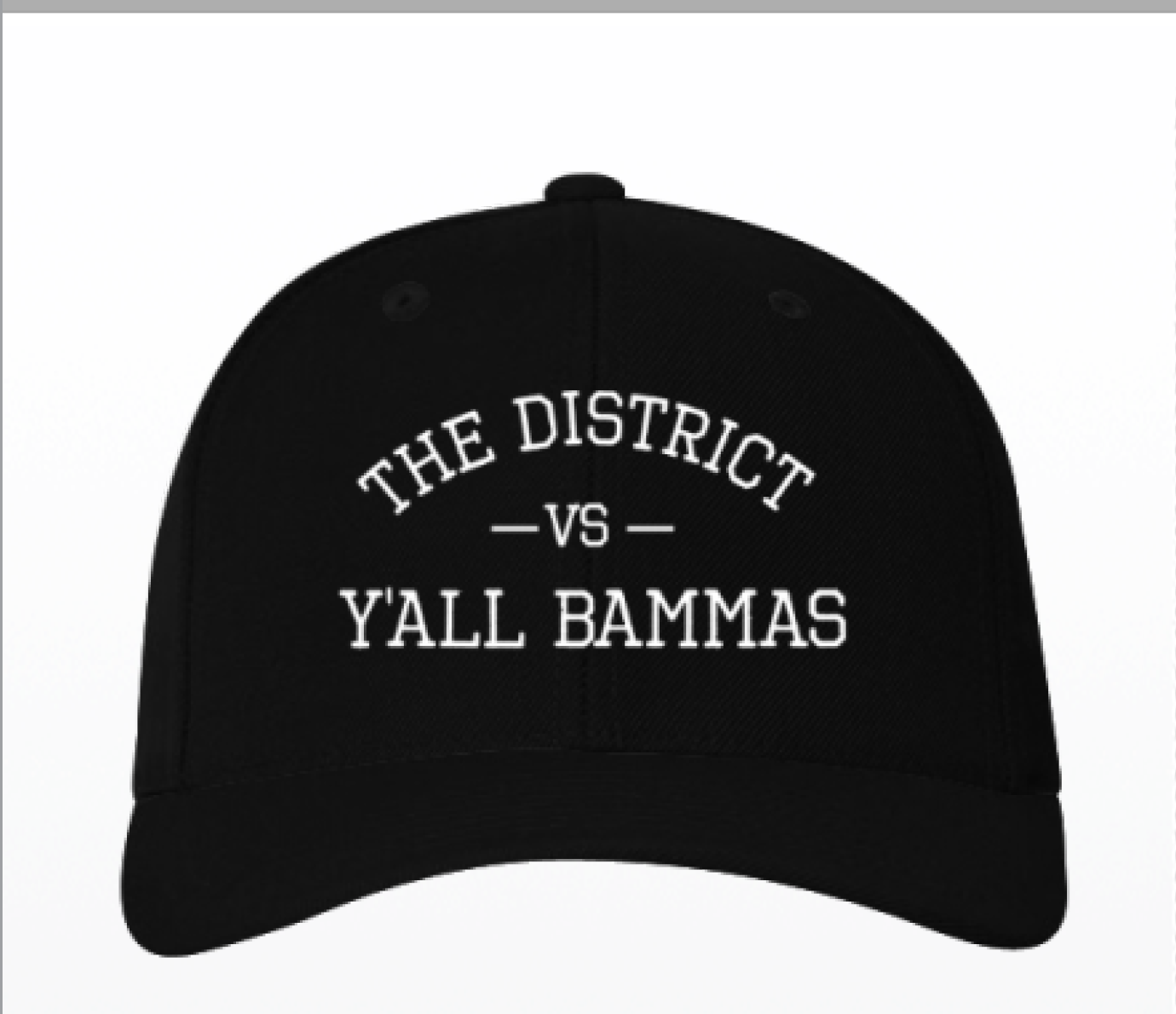 The District vs Y'all Bammas Baseball Hat