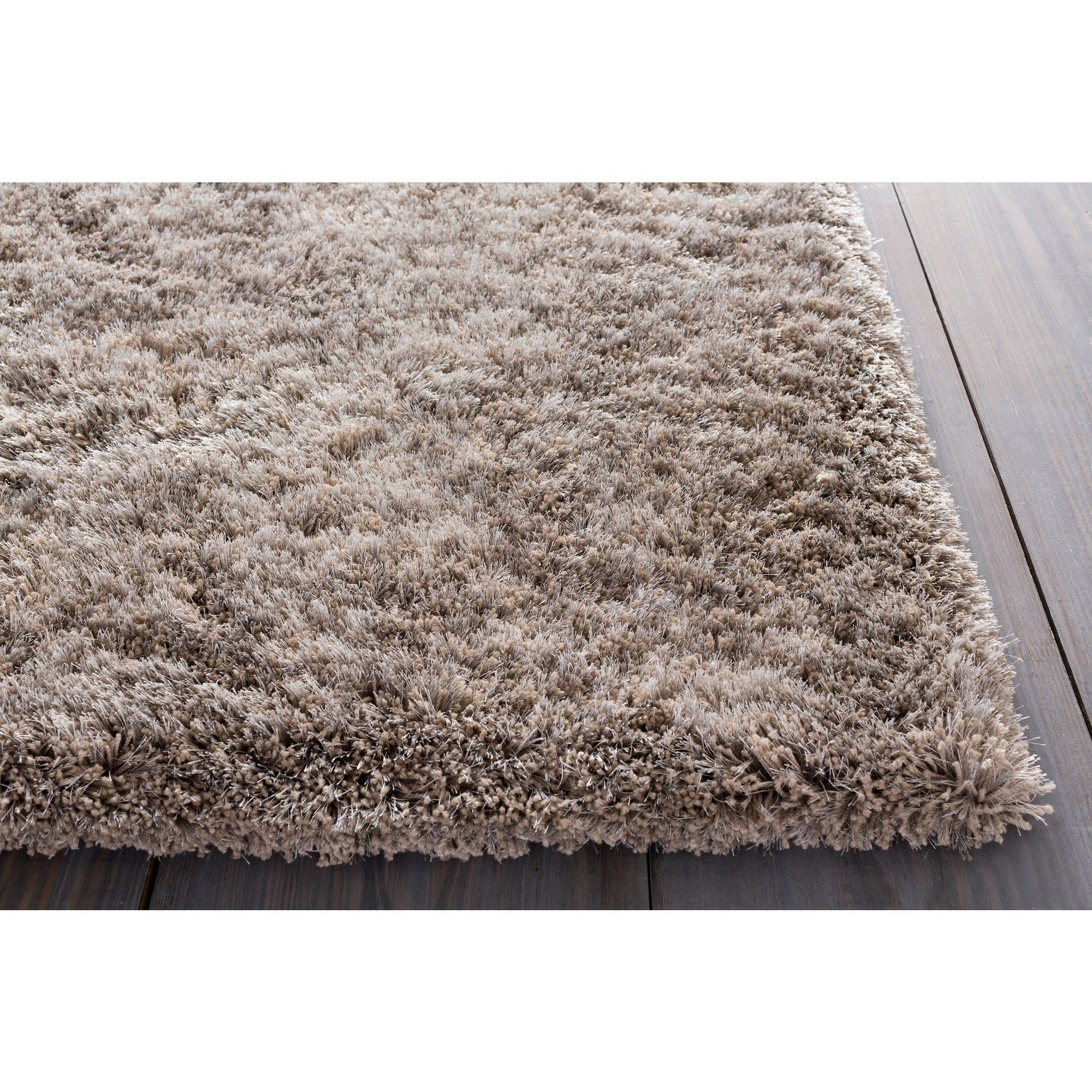 Hand Woven Lovington Brown Super Soft Shag Area Rug 12 X 15