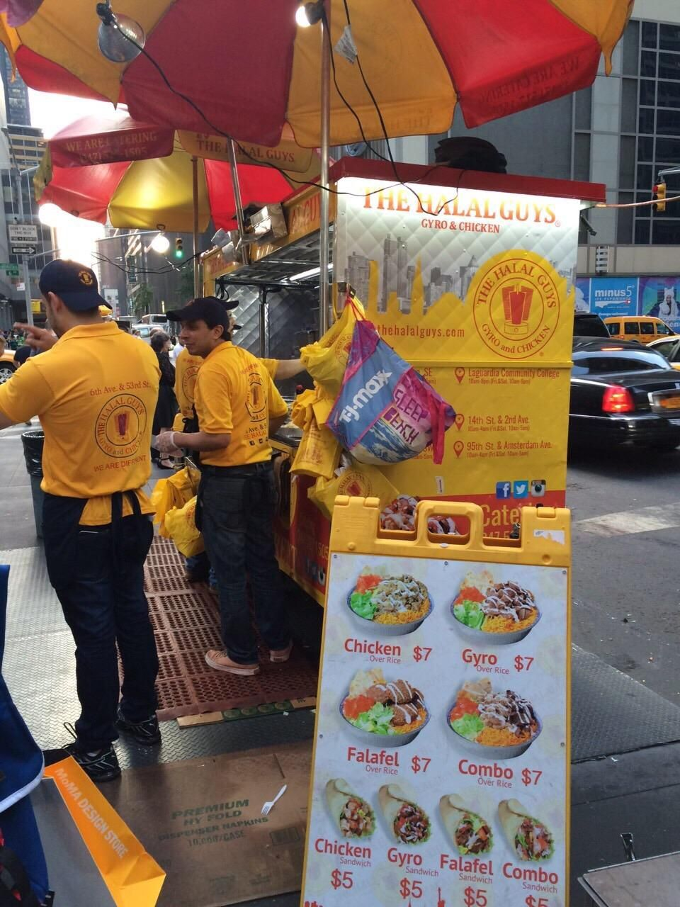 The Halal Guys Halal Trip Advisor Restaurant New York