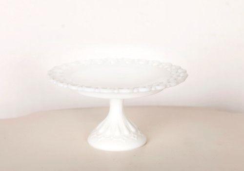 7″ White Cake Stand
