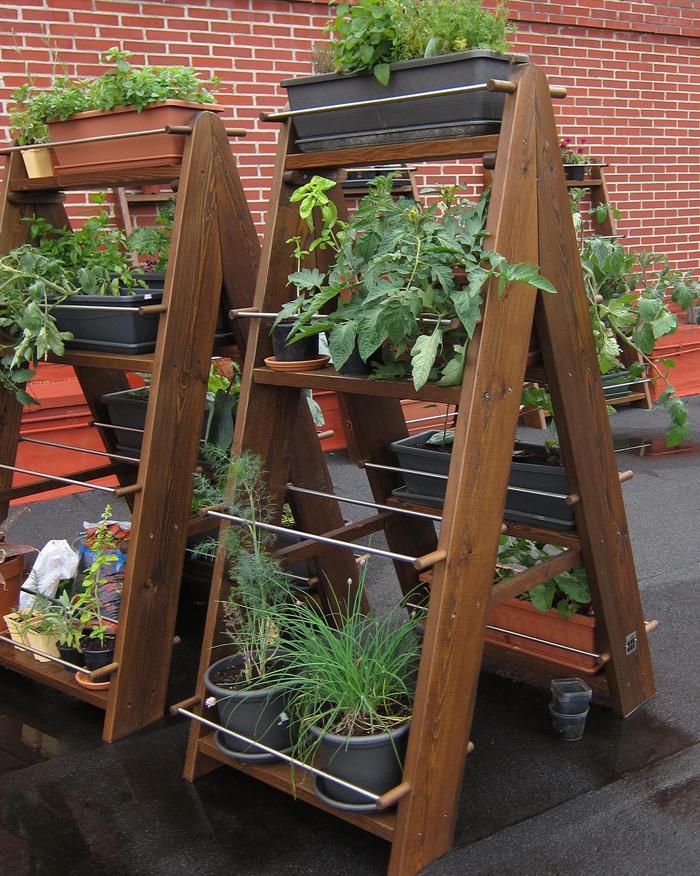 M dulo de cultivo vertical jardines flores y plantas for Modulo jardin vertical