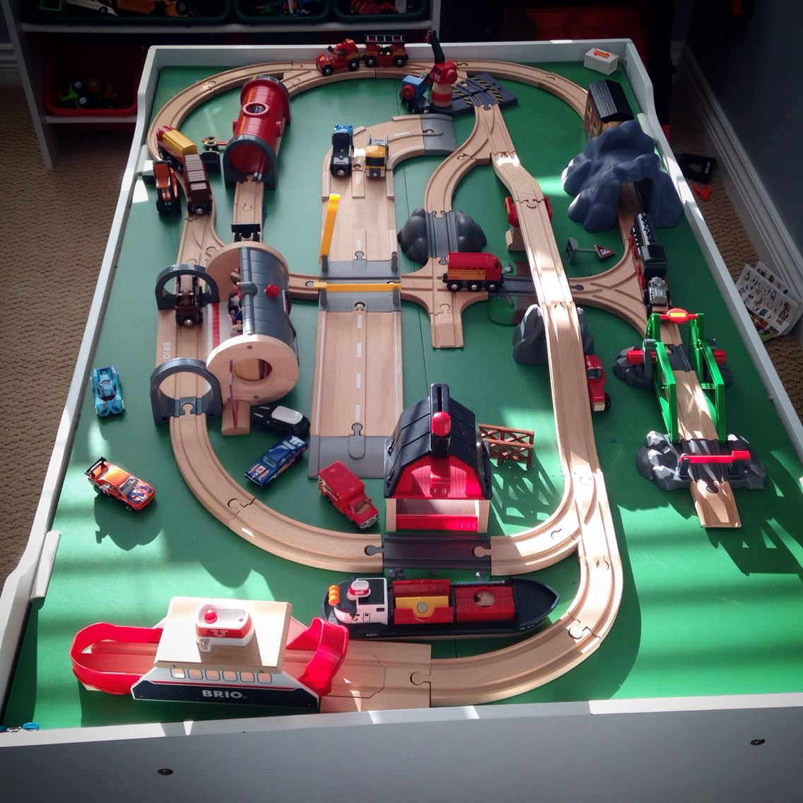 brio train track layout ideas | thomas the train | brio