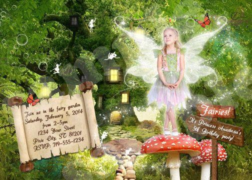 DIY Pixie or Fairy Princess Birthday Party by therandompanda, $25.00