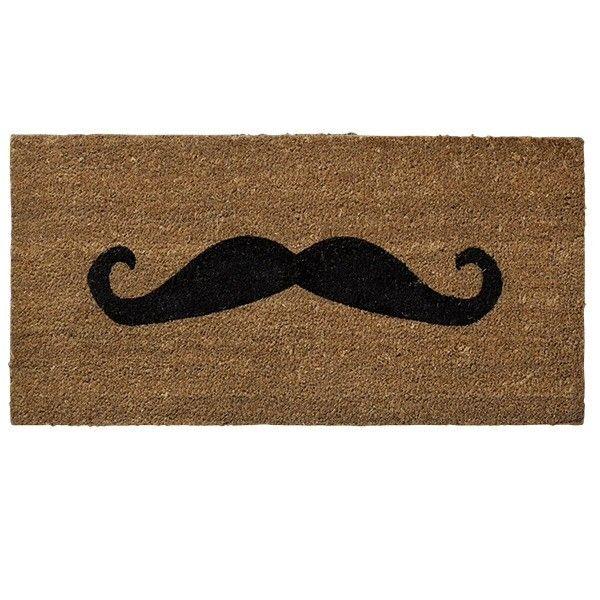 Paillasson Moustache via Objets du Délit . Click on the image to see more!