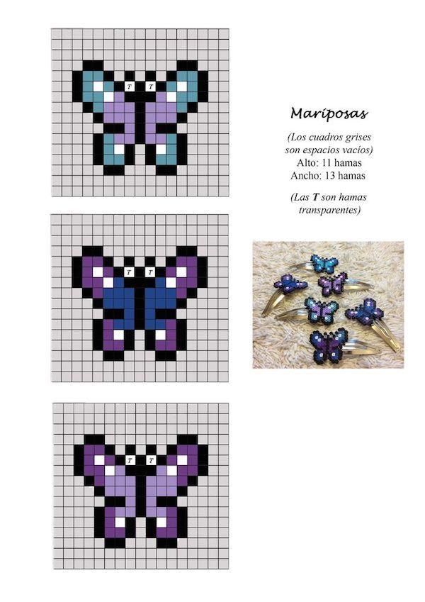 Hama beads, 23 patrones para descargar gratis | Kids | Pinterest ...