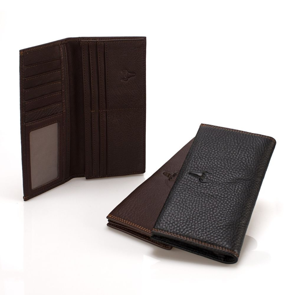 New Mens Bifold Genuine Leather Wallet Multi Pockets Fashion IDs Billfold Cards