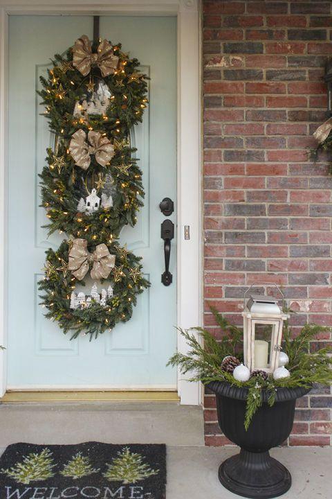 50 festive do it yourself christmas wreath ideas miniature 50 festive do it yourself christmas wreath ideas solutioingenieria Choice Image