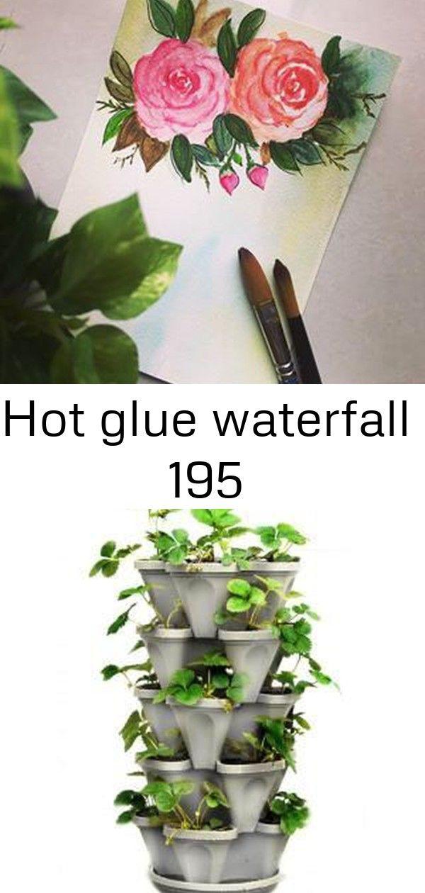 Hot glue waterfall 195 Have a great day! ? Bloem Terra Cotta Hanging Garden Plastic Planter System (3 pack)-482121-1001 - The Home Depot Molten Glass Teak Wall Décor