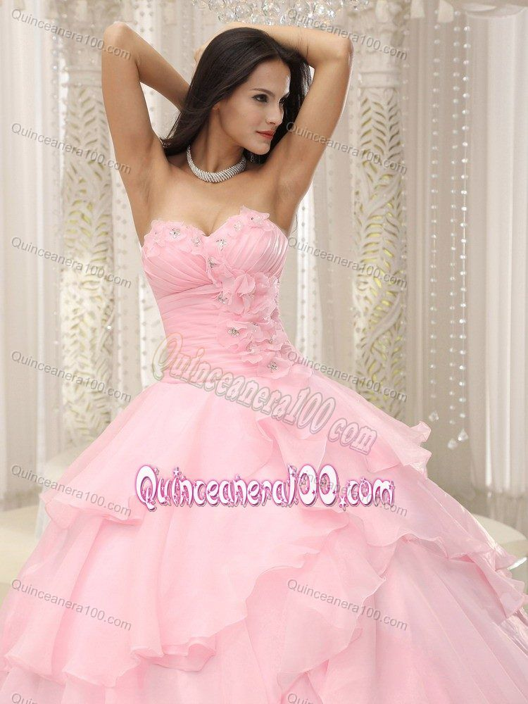 I like this light pink dress for my sweet 15 | QUINCEAÑERAS ...