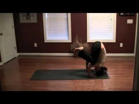yoga arm balances  bakasana tripod headstand  yoga arm