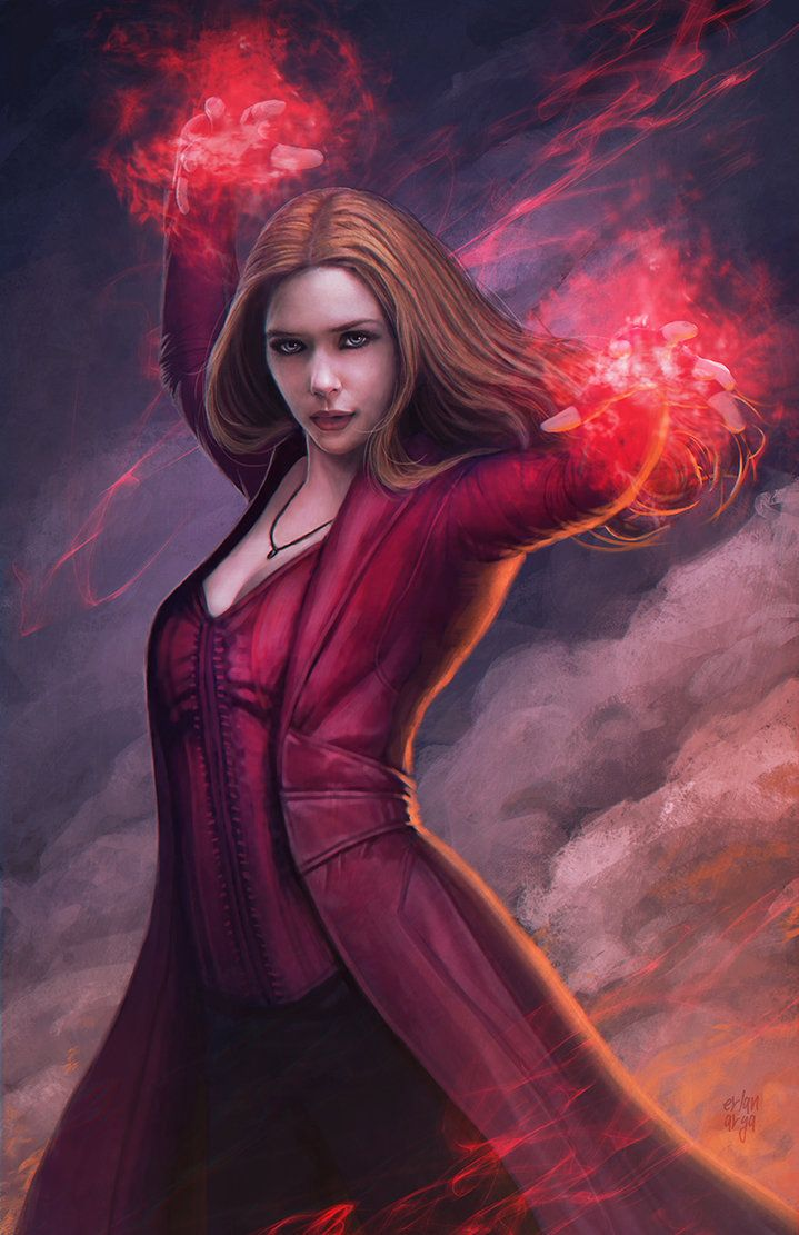 Scarlet witch by http://evankart.tumblr.com/ … | Pinteres…