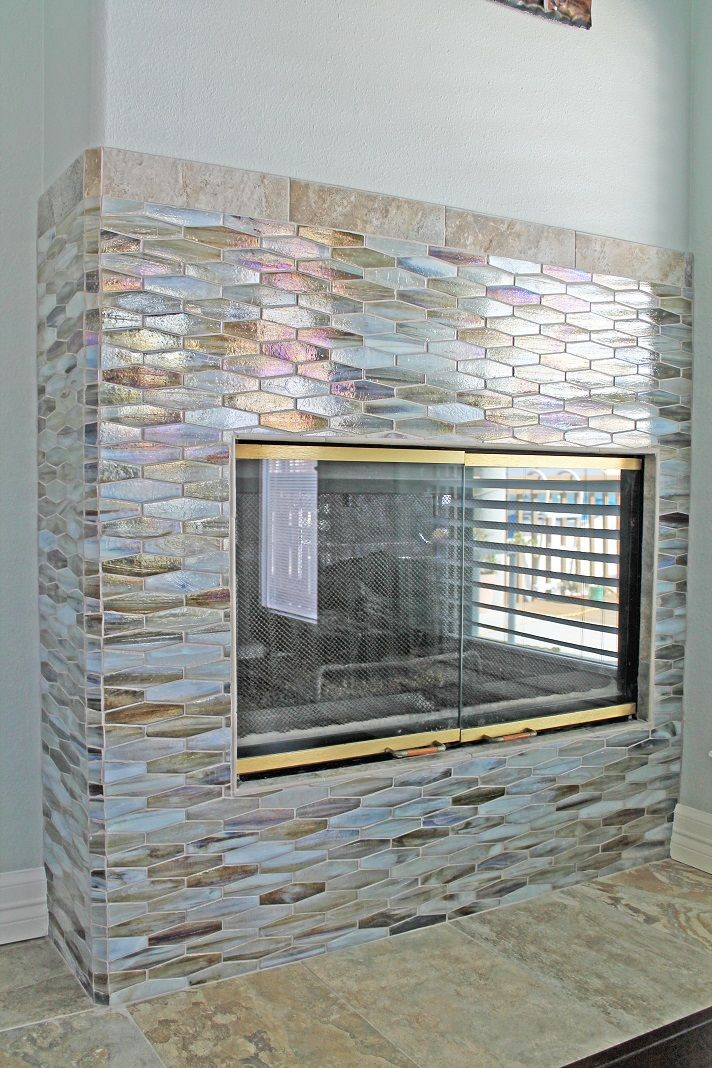 27 Stunning Fireplace Tile Ideas For Your Home Mosaic Fireplace Tile Ideas And Tiled Fireplace