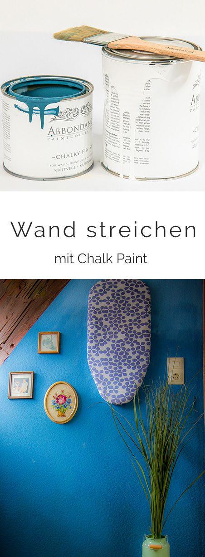 wand mit kreidefarbe streichen sinn oder unsinn ich habe es ausprobiert wendys. Black Bedroom Furniture Sets. Home Design Ideas