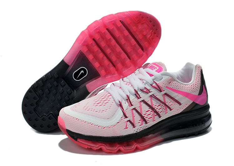 2015 Sale Shoes Halfoff Nike Air Max 2015 White Fuchsia