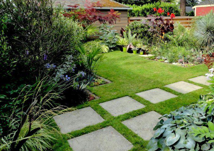 111 Gartenwege Gestalten Beispiele 7 Tolle Materialien Fur Den Boden Im Garten Gartenweg Gestalten Gartenweg Garten