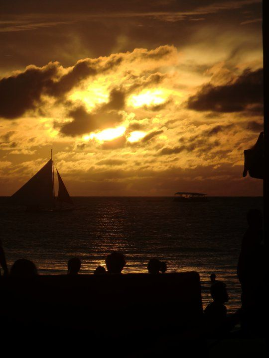 After surf at White Beach, #Boracay.
