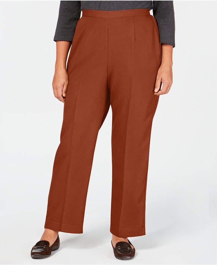 pull on dress pants plus size