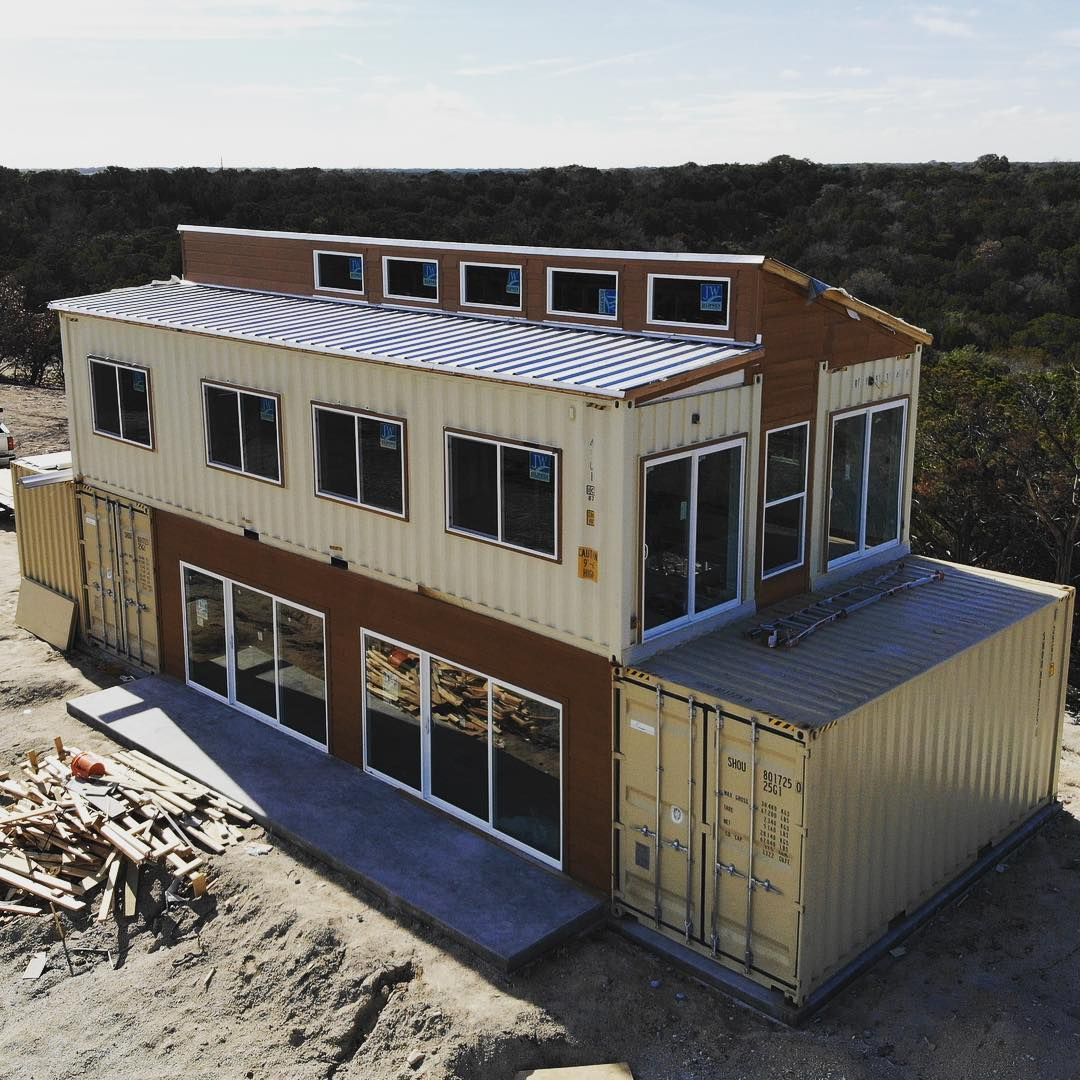 Container Home Design Ideas: Pin By MyHeartFully ™ On Shipping Container House In 2019